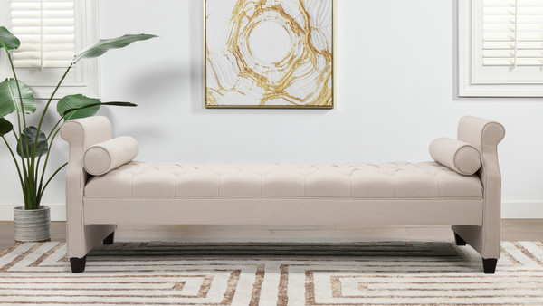 Eliza Upholstered Sofa Bed, Sky Neutral