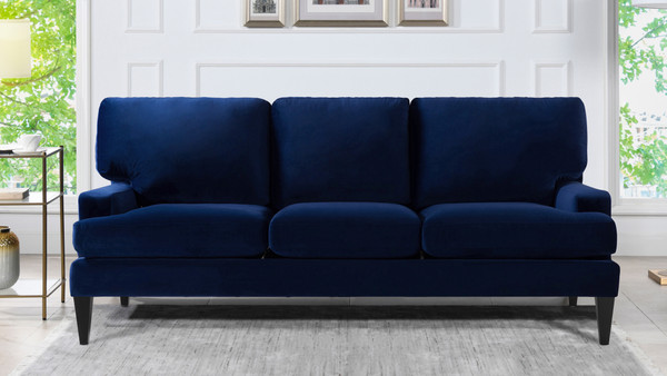 Enzo Lawson Sofa, Navy Blue