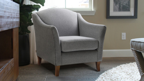 Julian Camel Back Accent Chair