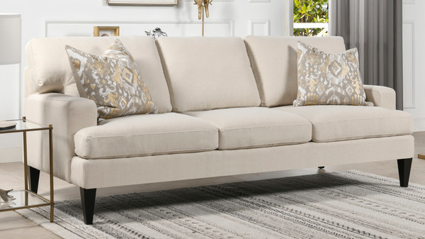 Enzo Lawson Sofa, Sky Neutral