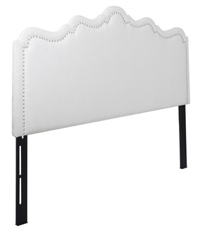 Ela Upholstered Headboard, Antique White (King size)
