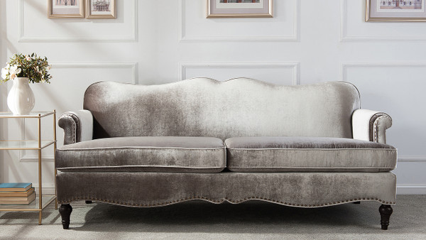 "Legacy 81"" Camel Back Sofa"