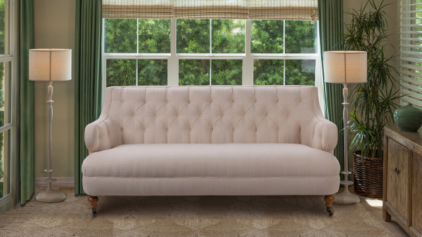 "Milano 73"" Tufted Accent Sofa"
