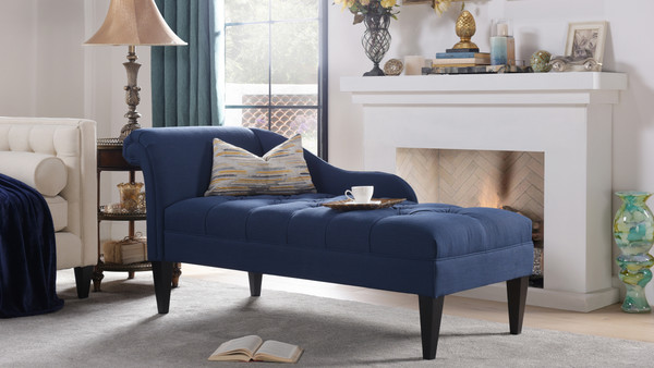 Harrison Tufted Chaise Lounge