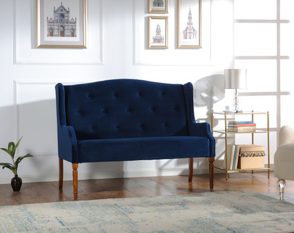 "Izzy 51.5"" Tufted Settee"