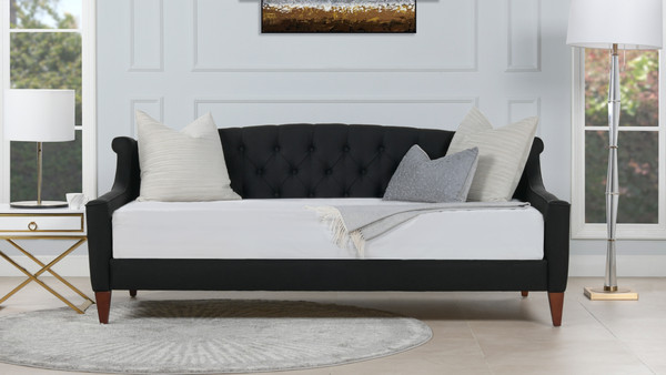 Lucy Sofa Bed, Jet Black