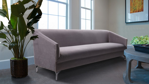 Elaine Tight Back Sofa, Opal Grey