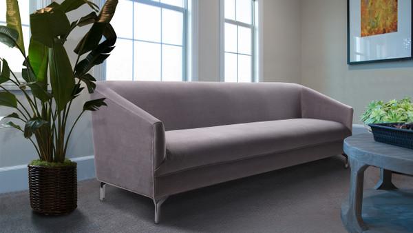 Elaine Tight Back Sofa, Opal Grey
