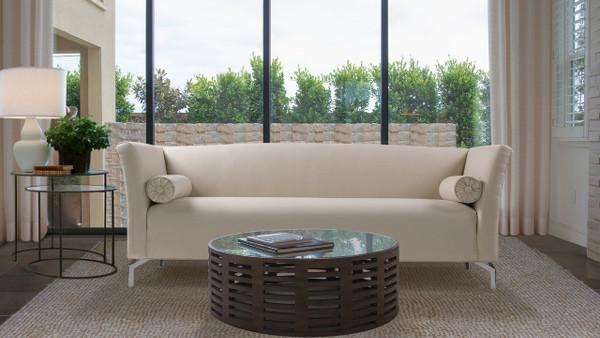 Camilla Mid-Century Modern Sofa, Sky Neutral