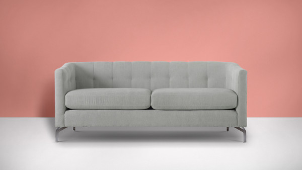 Arlene Modern Contemporary Sofa, Mineral Grey