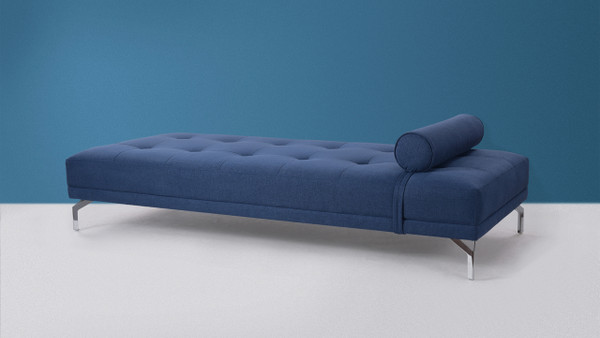 Abigail Sofa Daybed, Dark Sapphire Blue