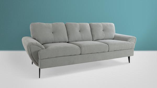 Clara Mid-Century Modern, Mineral Grey