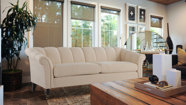 "Julia 82"" Flared Arm Sofa"