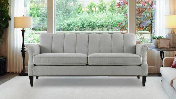"Giotto 75"" Channel Accent Sofa"