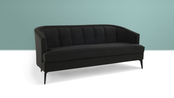"Isabella 72"" Mid-Century Contemporary Sofa"