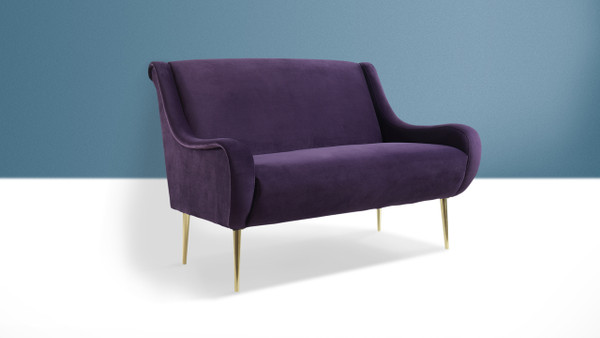 Corina Settee, Purple