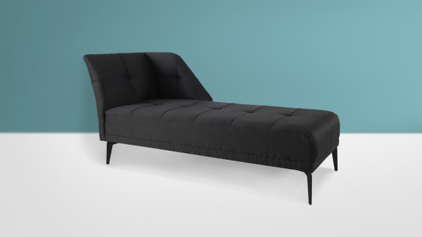 Bexley Chaise, Dark Grey
