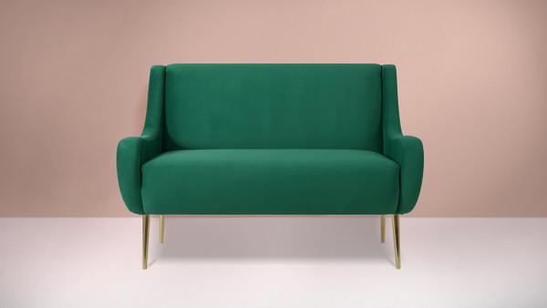 Corina Settee, Ultramarine Green