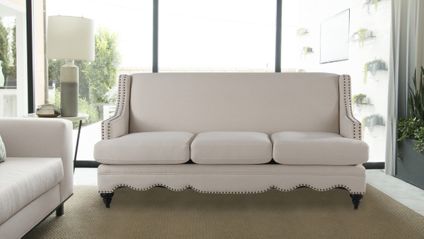 "Marisole 74.5"" Recessed Arm Sofa"