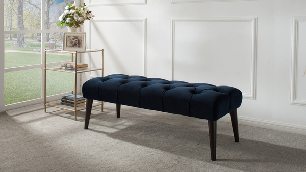 "Quinn 49.5"" Tufted Entryway Bench"