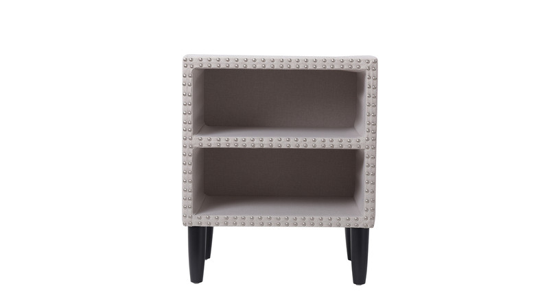 Zane Nightstand, Bone White