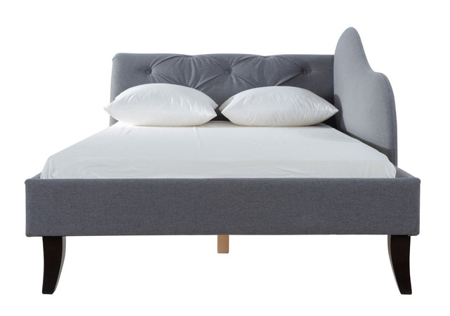 Eliana Chaise Sofa Bed Steeple Grey