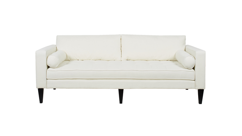 Nicholi Lawson Sofa, Antique White