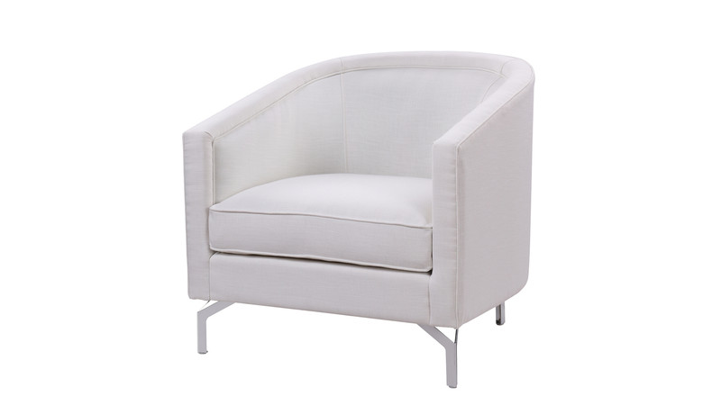 Annette Cabriole Arm Chair, Antique White