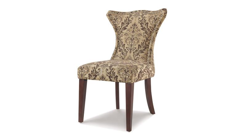 Lorena Accent Parson Chair, Brown
