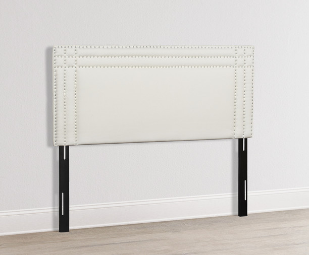 Shea Upholstered Headboard, Antique White (Queen Size)