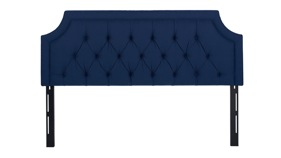 Kaye Tufted Headboard, Midnight Blue (King Size)