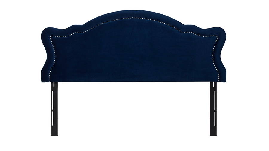 Legacy Upholstered Headboard, Navy Blue (King Size)