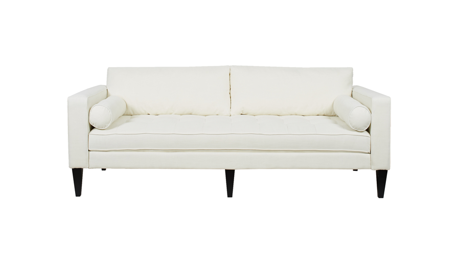 Nicholi Lawson Sofa, Antique White