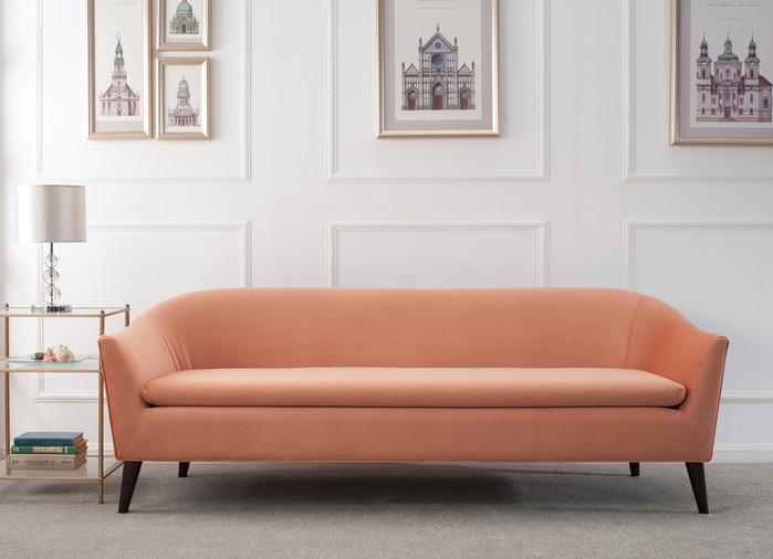 ... Lia Mid Century Modern Sofa ...
