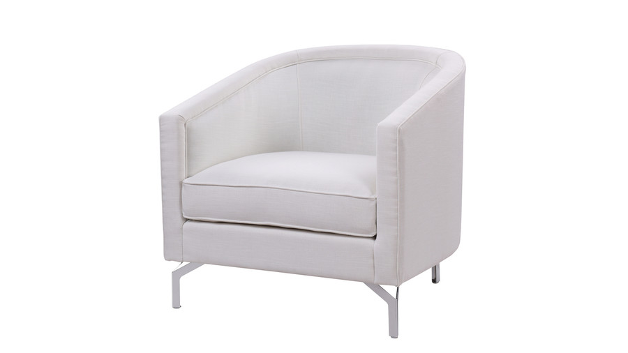 Annette Cabriole Arm Chair, Antique White