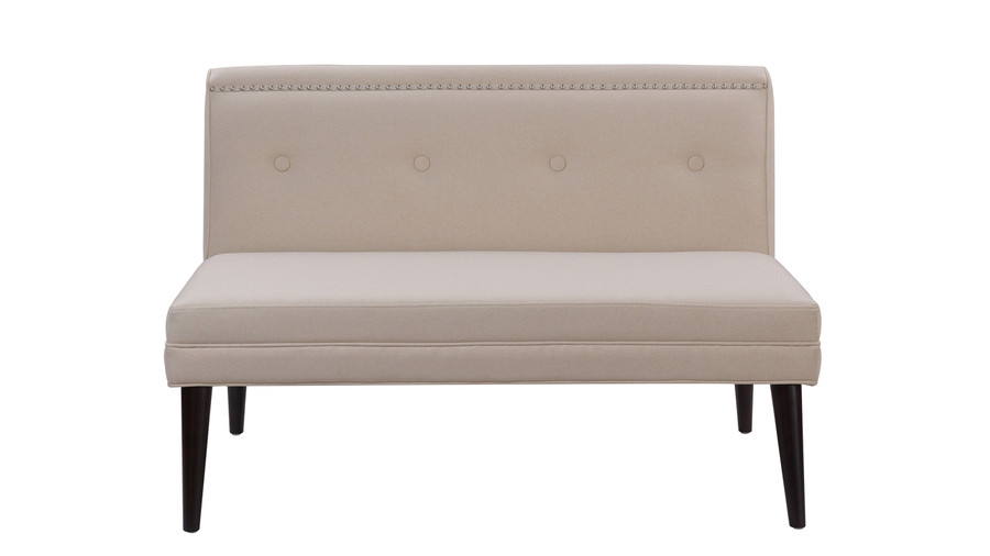 Madison Accent Settee, Sky Neutral