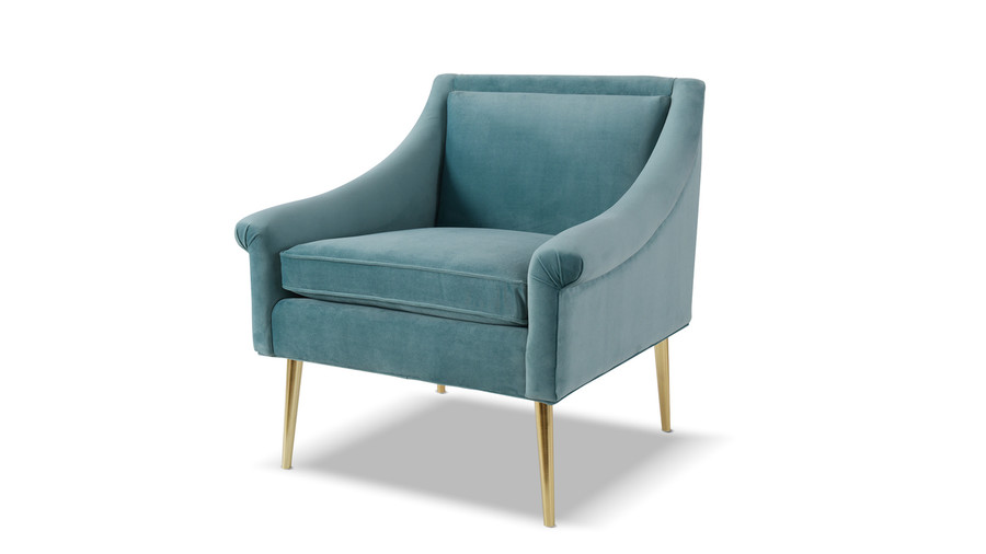 Eryk Accent Chair, Arctic Blue