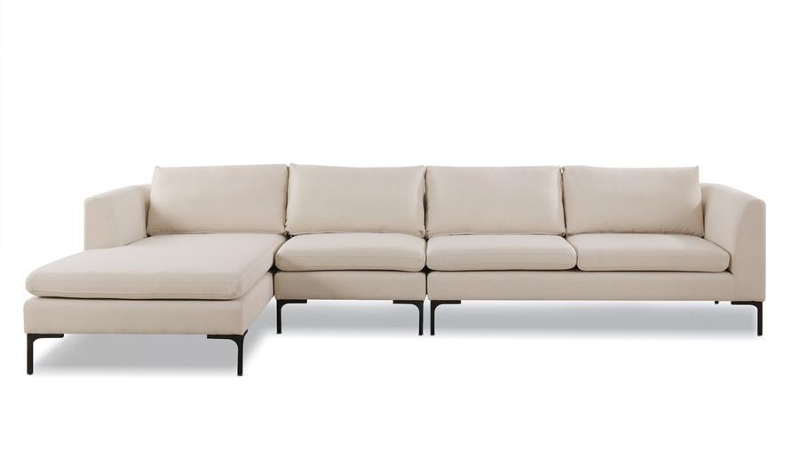 Weylyn LAF Chaise Sectional Sofa, Sky Neutral
