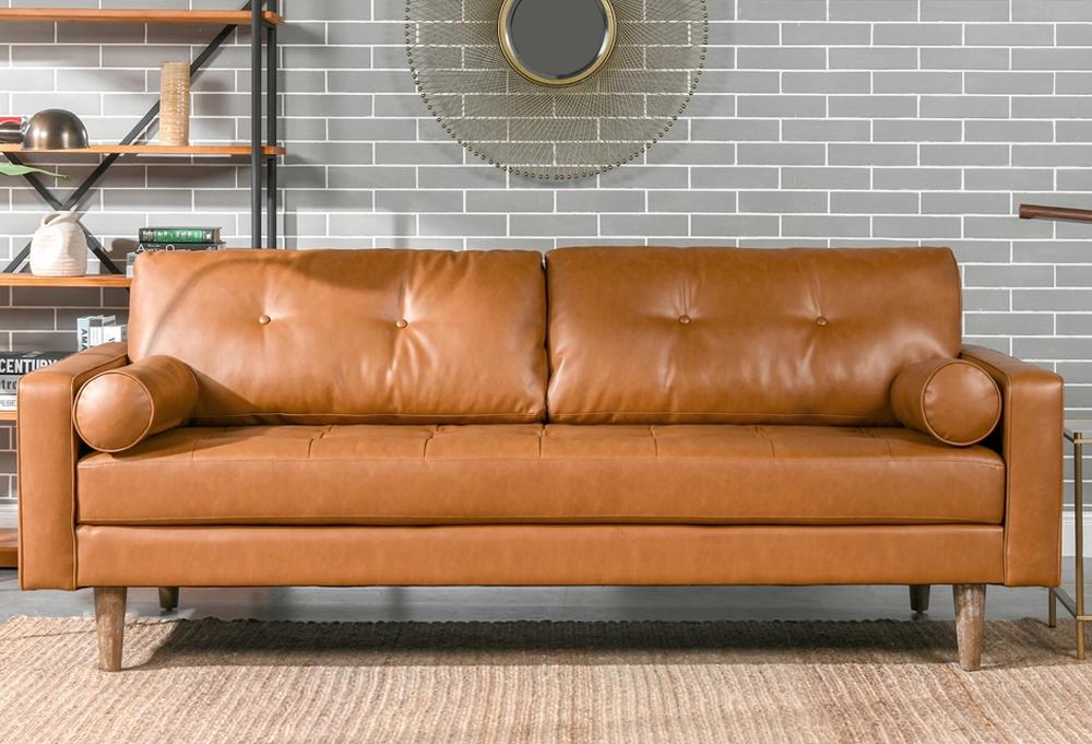 Nicholas Mid-Century Modern Sofa