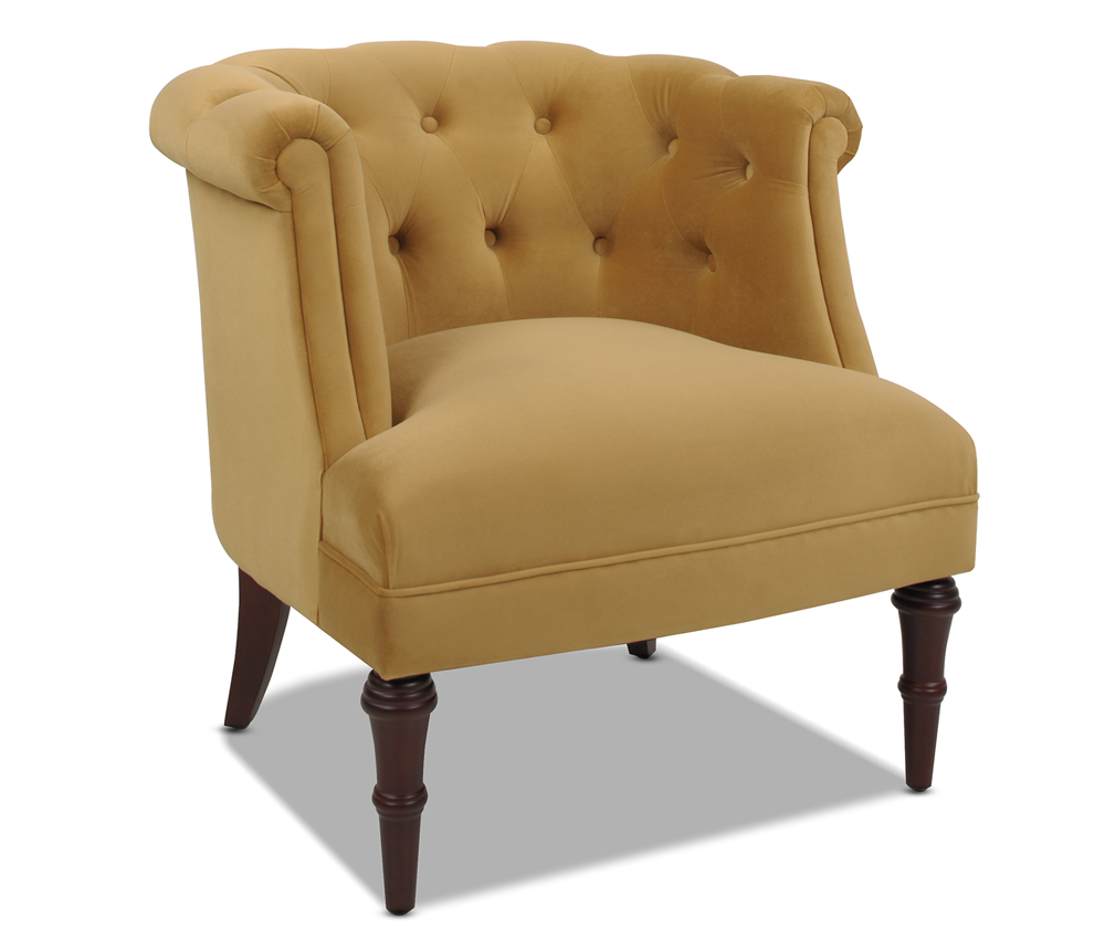 Katherine Tufted Accent Chair