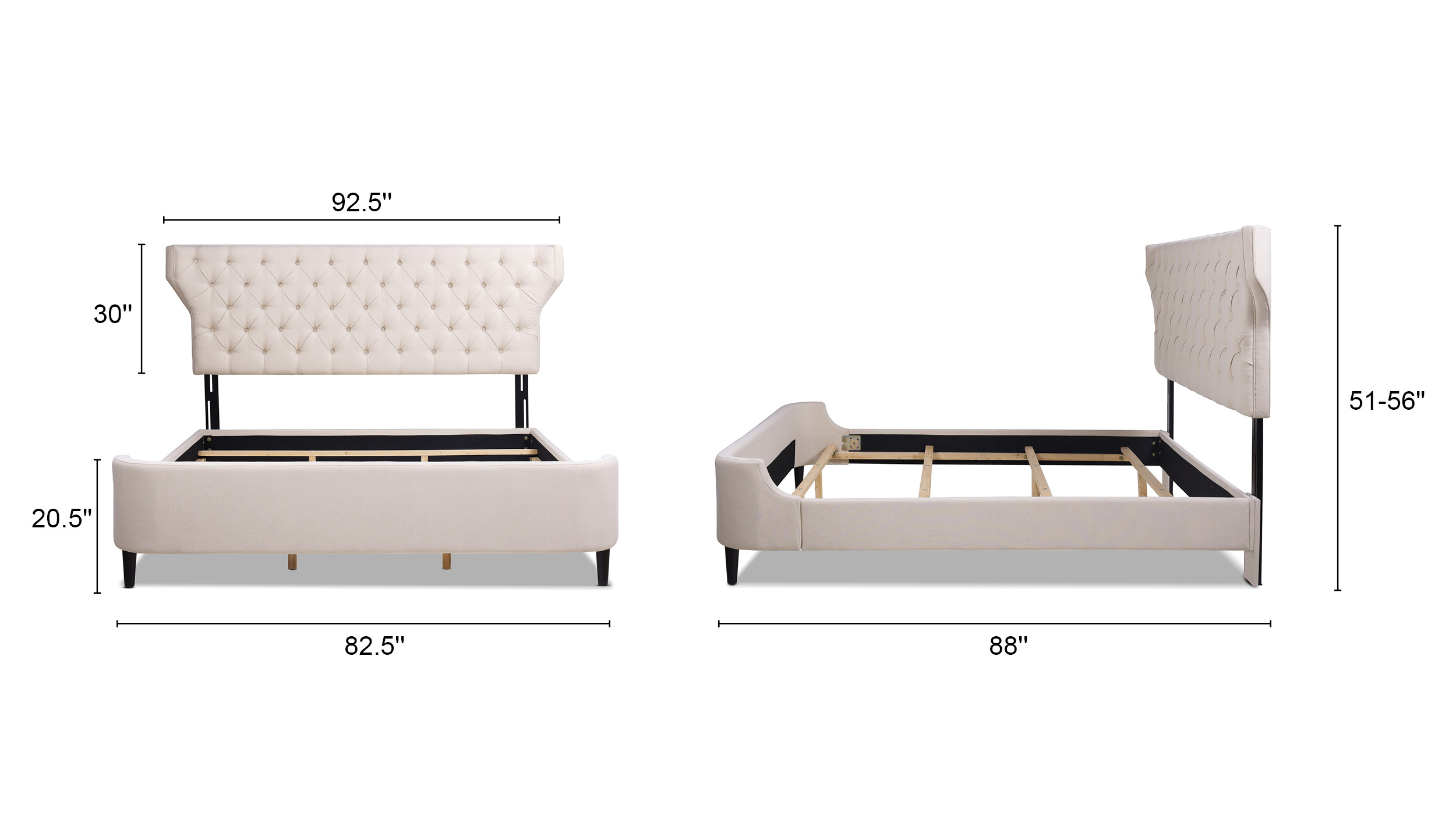 Robyn Panel Bed