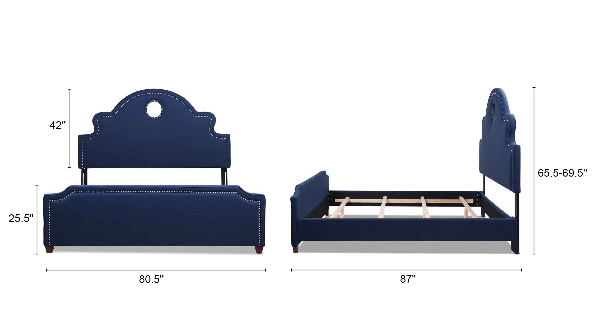 Flora Headboard Bed