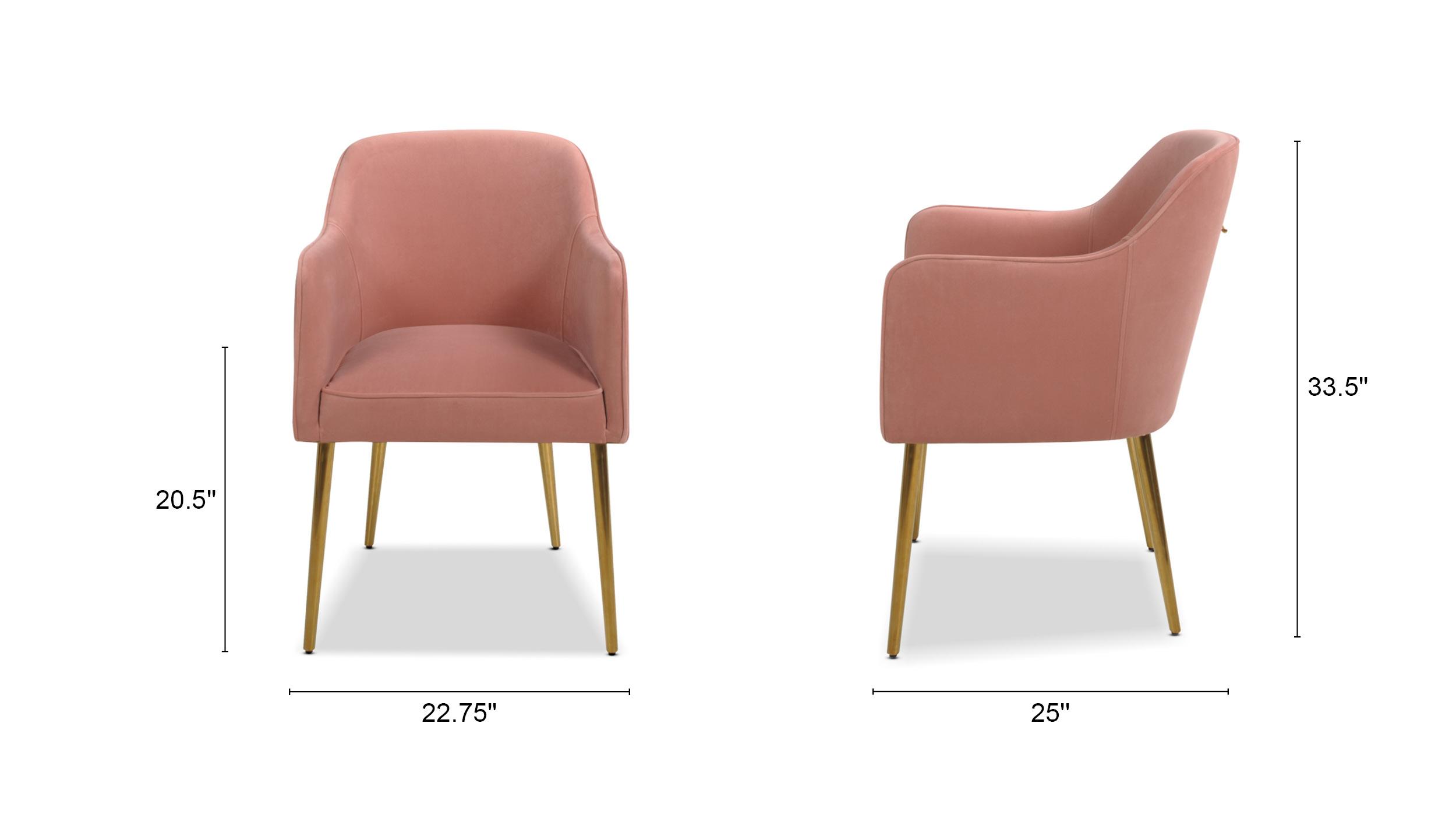 Ivy Mid-Century Modern Accent Desk Chair