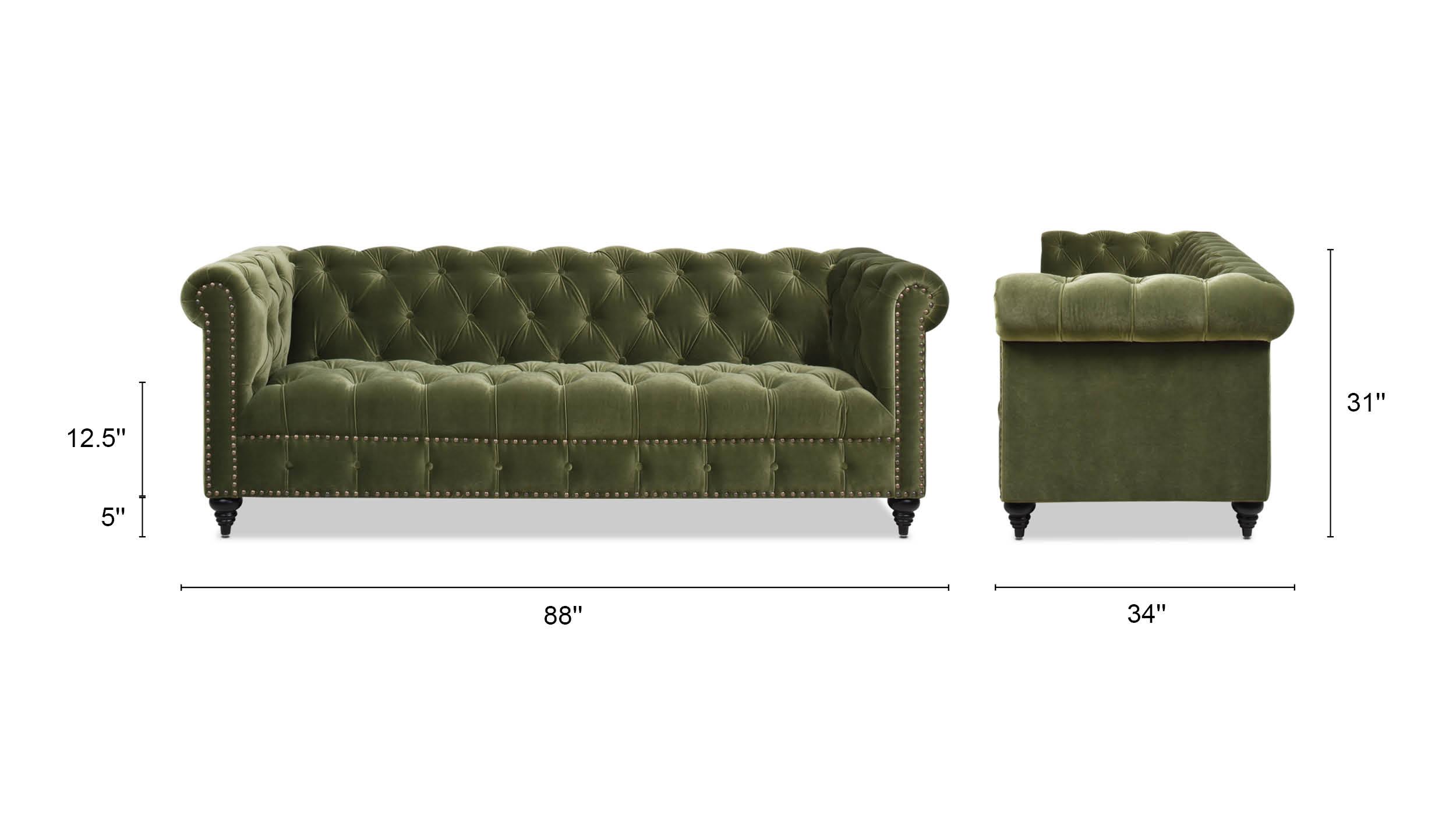 Alto Tufted Chesterfield Sofa