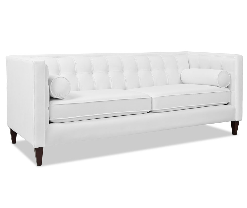 Jack Tuxedo Sofa, Cloud White