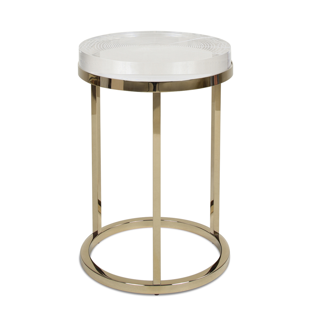 Dendros Round Side Table