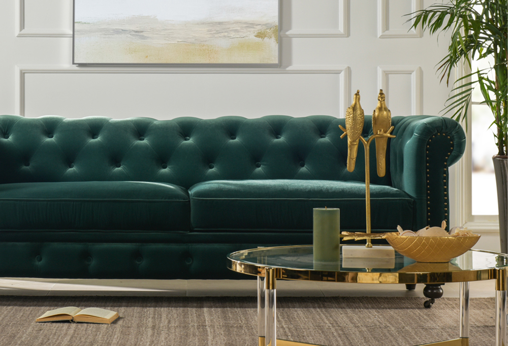 Winston Tufted Chesterfield Sofa