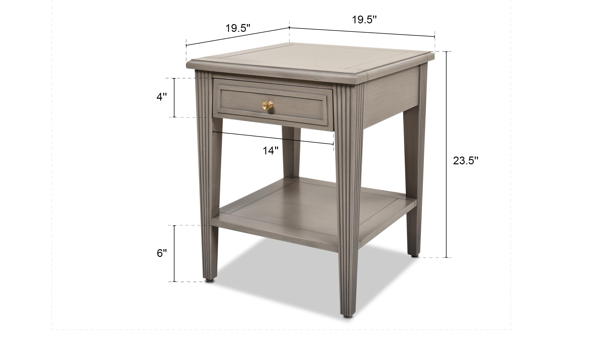 Dauphin Side Table