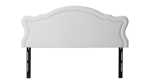 Legacy Upholstered Headboard Antique White King Size