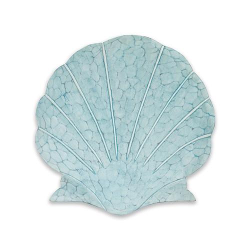 Scallop Shell Aqua